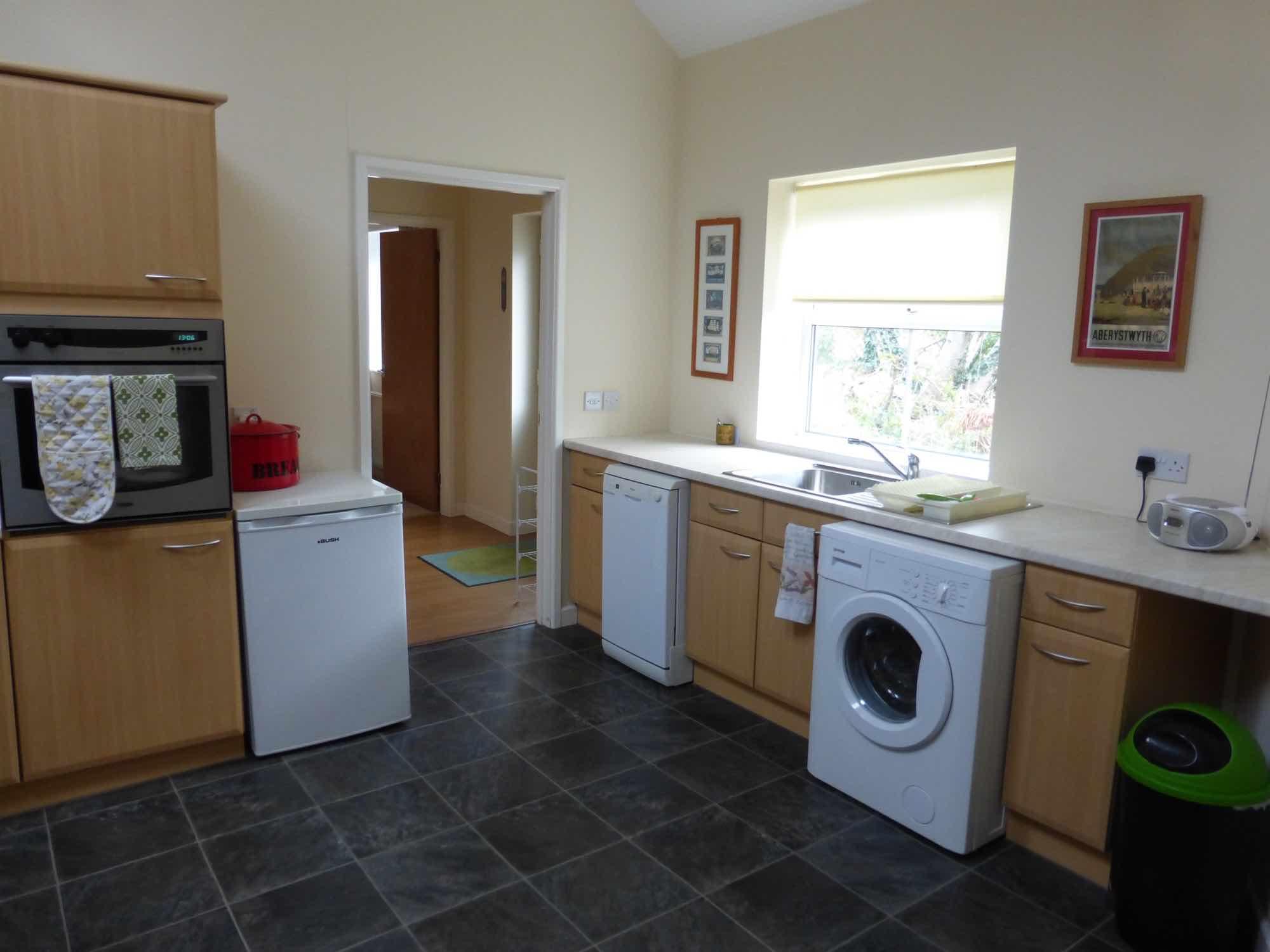 Washing machine, dishwasher, and fridge